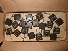 10pcs of 3000pF x 500V  KSOT-5G / КСОТ-5г Silver Mica Capacitor made in USSR