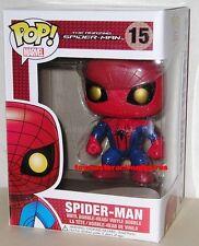 FUNKO POP Marvel  AMAZING SPIDERMAN #15 MOVIE Vinyl Figure MINT BOX IN STOCK