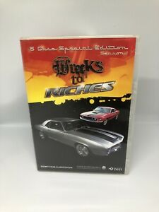 WRECKS TO RICHES Season One DVD R4 Special Edition Very Good Condition