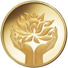 1 GRAM 9999 GOLD MMTC PAMP LOTUS COIN