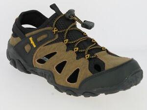 Herren Echt Leder Sandalen Trekking Sandalen Outdoor Sandalen Sandaletten Schuhe