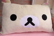 Rilakkuma Relax Bear San-X Lovely Plush White Pillow Case 63*43cm Top Sale 2017