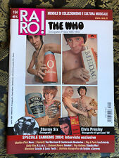RARO! 154 Magazine about discography ps THE WHO Elvis Sanremo 2004 Stormy Six