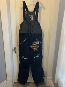 KLIM MEN'S STEALTH BIBS  BLACK  SIZE LARGE  #6051-001-140-000