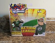 DC Universe Action League GREEN LANTERN Figure With Cannon Construct Set NEW