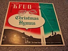 """KFUO """"Presents Christmas Hymns"""" LP ST. LOUIS CONCERT CHORALE/ST. JOHNS LUTHERAN"""