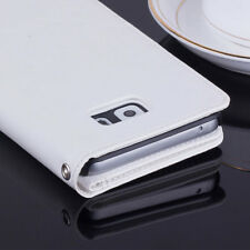 Luxury Leather Wallet 9 Card Case Cash Slot Flip Cover For Samsung Galaxy Note 5