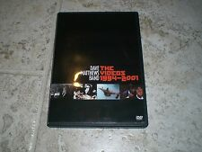 DAVE MATTHEWS BAND: THE VIDEOS 1994-2001 DVD Free Shipping!