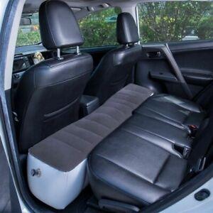 Car Inflatable Mattress Bed  Camping Travel Back Seat Air Cushion Gap Mat Pad