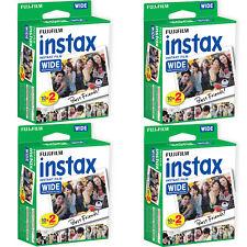 80 Prints Fuji Instant Wide Instax Film for Fujifilm 200, 210, 300 Camera 04/19