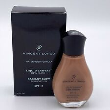 Vincent Longo Liquid Canvas Dew Finish Radiant Glow Foundation Golden Sienna #10
