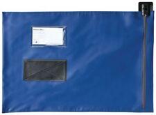 More details for val-u-mail large a3 security postal mailing pouch bag blue 356 x 495 mm c4vm