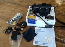 Olympus Stylus XZ-1 10.0MP Digital Camera + Batteries + Accessories. VG Cond.