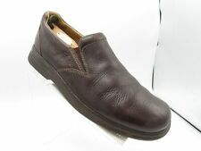 Clarks Blakeney 37842 Size 11 M Brown Leather Slip On Casual Loafer Mens Shoes