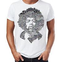 Jimmy Hendrix Lyrics Silhouette Artist Tour Music Mens Womens Unisex T Shirt