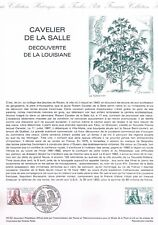 Document Officiel   1982 46   Cavelier De La Salle  Yv N° 2250