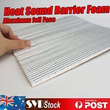 40Sqft Auto Van Sound Deadener Proofing Heat Thermal Block Aluminum Insulation