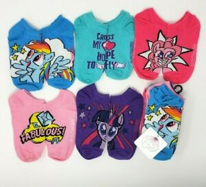 My Little Pony 5-Pair Socks M 7.5-3.5