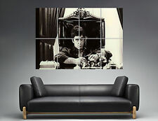 TONY MONTANA SCARFACE  ON THE THRONE Wall Poster Grand format A0  Print