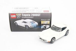 Takara Tomy Tomica Premium No. 27 Toyota 2000GT Diecast Car Toy Collection New