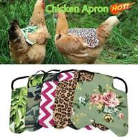 Single Strap Chicken Apron Saddle Chicken Jackets Hen aprons Protector Q9S5