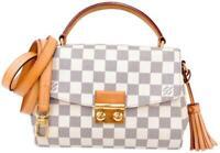 Louis Vuitton Croisette White Damier Azur Canvas Shoulder Bag