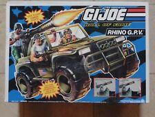 GI Joe Rhino G.P.V. Jeep Vehicle 1993 New in Sealed Box