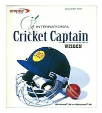 International Cricket Captain Wisden PC CD Rom Empire game Cricket Management