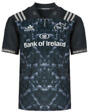 Munster Dark Grey Alternate 2017/2018 Adidas Rugby Shirt (M,Medium Mens) Jersey