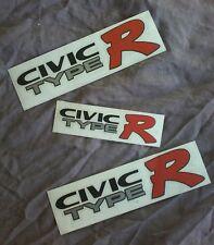 honda civic ek9 ek TYPE R side and hatch sticker set FOR COLOURED CARS