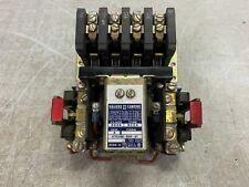 Square D 8536 Type Bxg2 Nema Size 0 Magnetic Motor Starters 20a 600v Coil 5hp