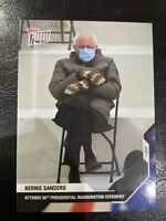 Topps NOW Card #21 Bernie Sanders at 2021 Presidential Inauguration **In Stock**