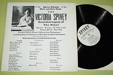 Victoria Spivey ‎– The Victoria Spivey Recorded Legacy Of The Blues, LP, US,vg++