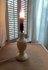 LOVELY SOLID MARBLE TABLE LAMP