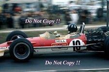 Graham Hill Gold Leaf Team Lotus 49B USA Grand Prix 1968 Photograph