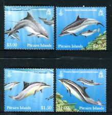 2012 Pitcairn Island Dolphins - Muh Set of 4 Stamps