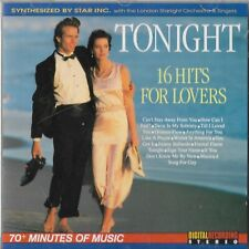 Star Inc. & London Starlight Orchestra Tonight 16 Hits For Lovers Synthsizer CD