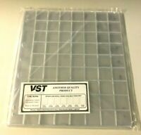 VST Coin Album Refill 63 Pocket Pages with Backing Pages - 10 Pages (RCP63)
