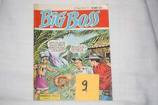 Big Boss (9) n°63-1°série--je devins l'esprit du totem-TBE-1961
