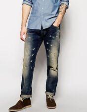 Vaqueros de hombre azul Lee en 100% algodón