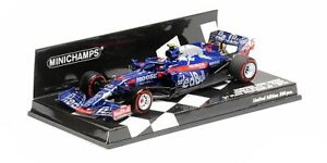 Minichamps 417191910 1/43 2019 Toro Rosso STR14 Pierre Gasly P2 Brazilian GP