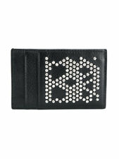 Alexander McQueen Studded Skull Leather Card Holder - NWT - 100% AUTHENTIC!