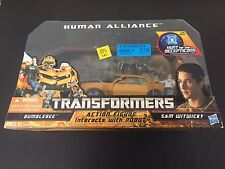 Transformers Hunt HFTD Human Alliance Bumblebee w/Sam MISB Authentic 2010 New