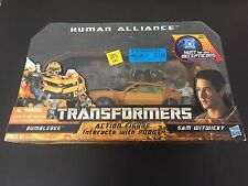 Transformers Hunt HFTD Human Alliance Bumblebee w/Sam MISB Authentic 2010 New