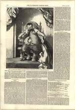 1851 señor don Sancho Panza pintado por John Gilbert