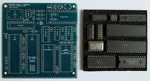 RC6502 Rev H Apple 1 Replica PCB and IC kit pre-programmed