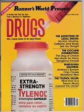 RUNNER'S WORLD PRESENTS DRUGS MAGAZINE-JANUARY,1983-VINTAGE RUNNER'S WORLD