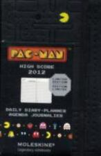 Moleskine 2012 12 Month Pac-Man Limited Edition Daily Planner Black Pocket...