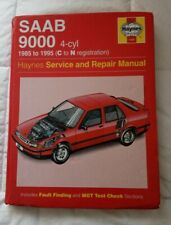 Saab 9000 Haynes Workshop Manual 1985-1995 4 cylinder Inc Turbo