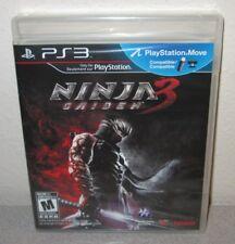 NINJA GAIDEN 3 Sealed NEW PlayStation 3 Team Ninja Action PS3